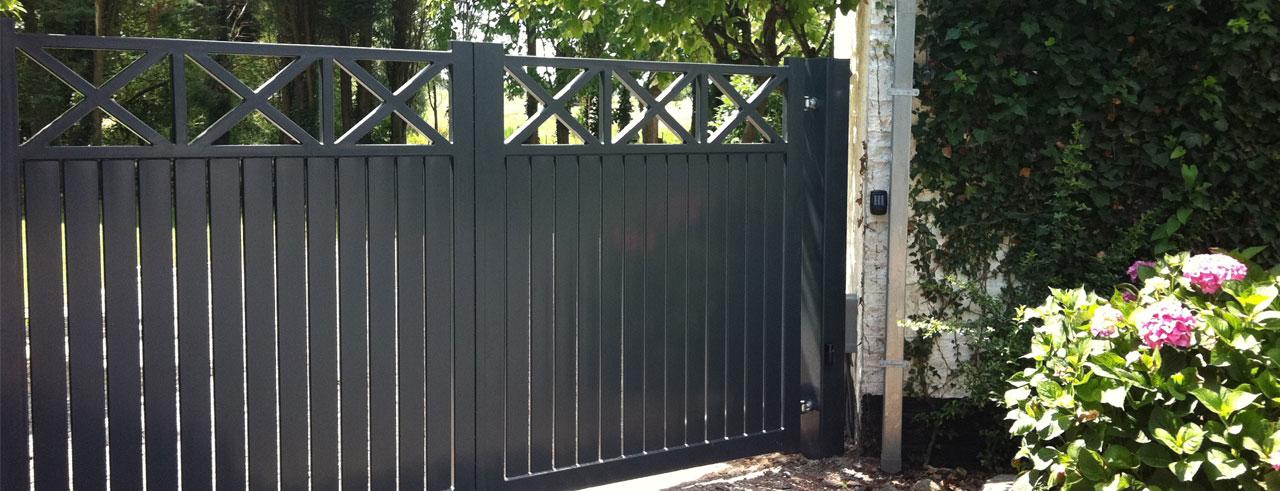 portail et barrière en acier